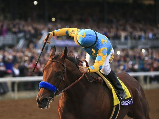 Hail the King.  Pharoah shines in Breeders' Cup  as he easily wins Breeders' Cup Classic by six and a half lengths to cement his legacy as one of the true kings of the sport.
