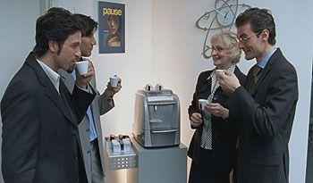 Pause Cafe Au Bureau Machine A Cafe