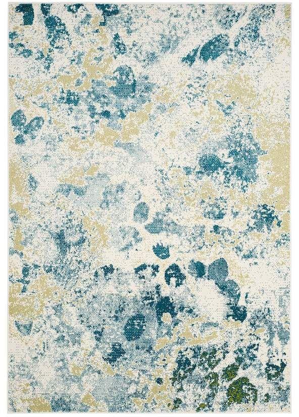 Safavieh Watercolor Garan Abstract Rug Watercolor Rug Blue Area