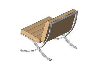 Strange Barcelona Chair For Revit Revit Families Barcelona Chair Andrewgaddart Wooden Chair Designs For Living Room Andrewgaddartcom