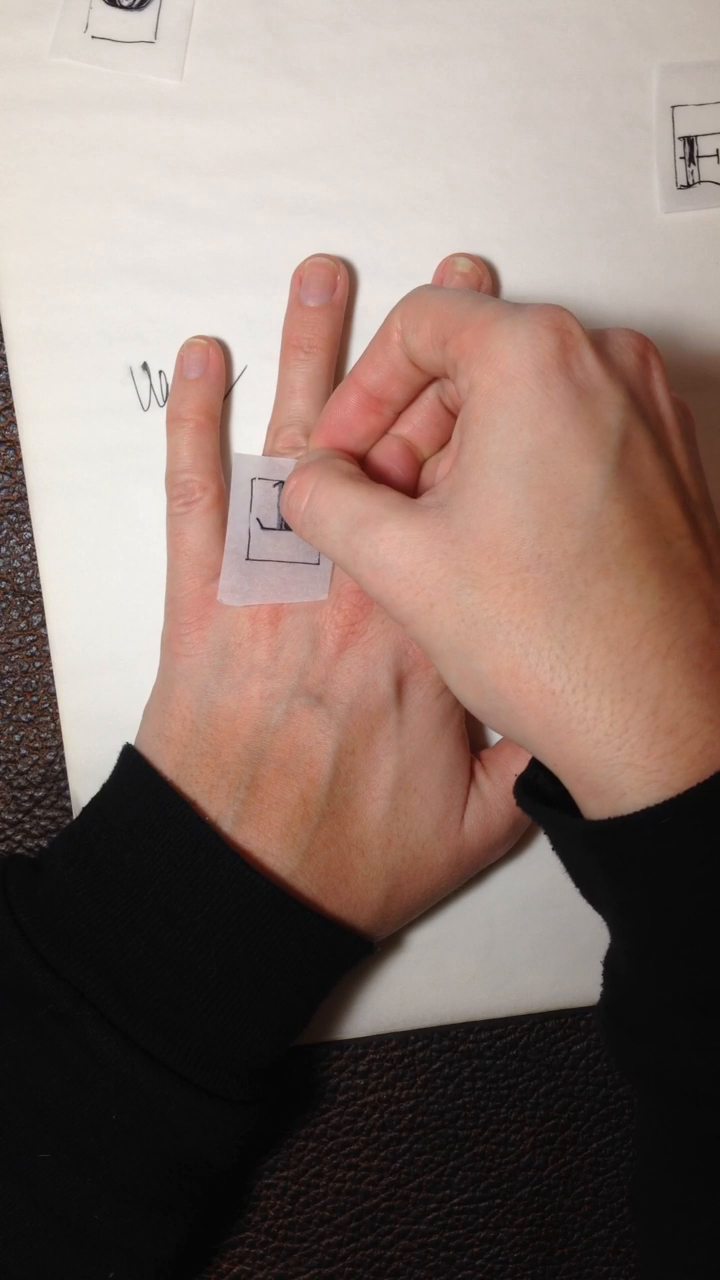 How to Make a Temporary Tattoo Vote. Made by cristin.