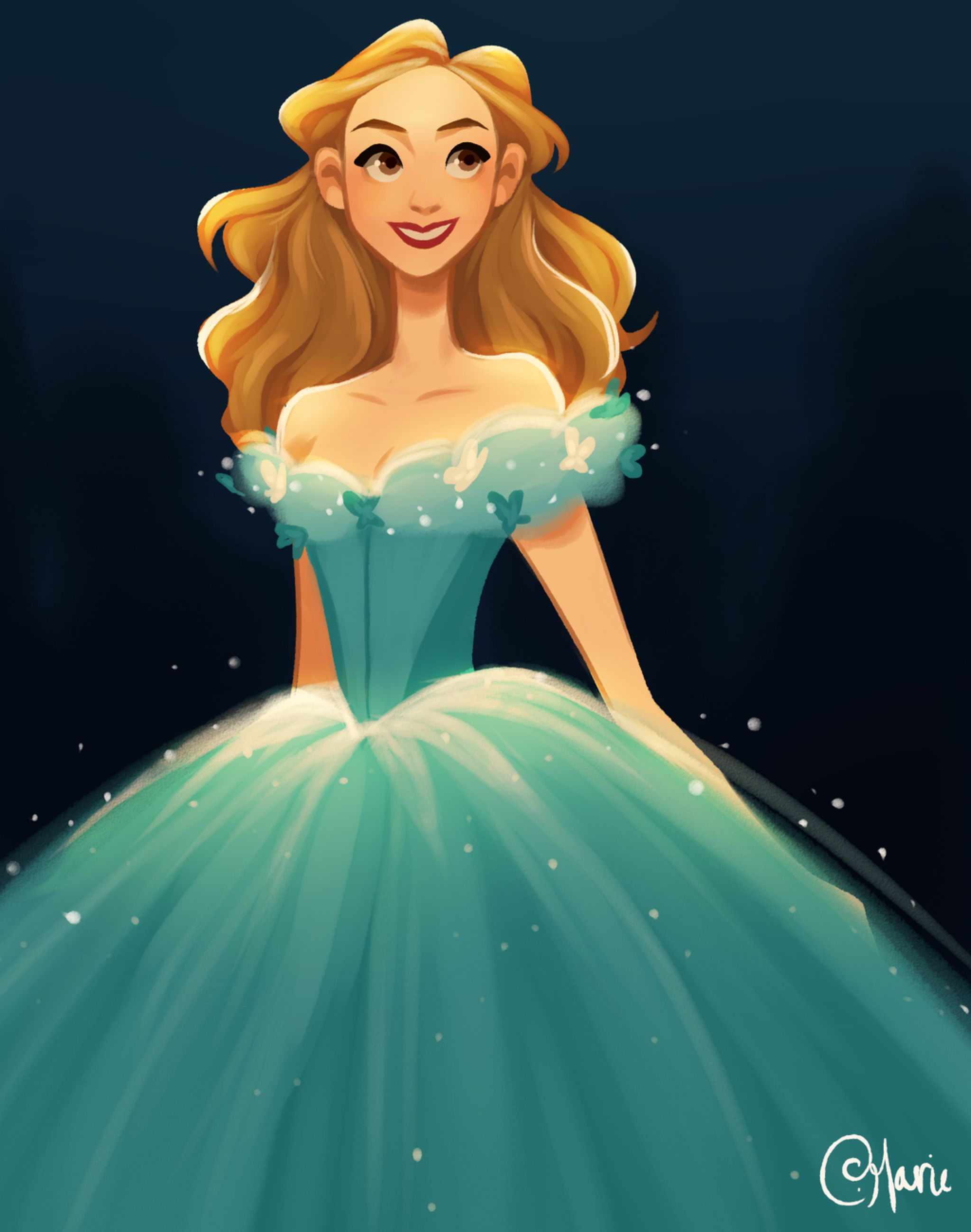 Cinderella by TheGingerMenace123 on @DeviantArt | DISNEY - LA ...
