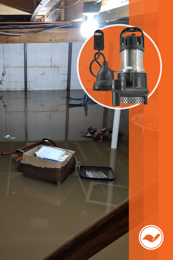 A Sump Pump Failure Can Be A Total Disaster We Have Everything You Need To Get The Protection You Deserve Find Out Which Ion Sump P Sump Pump Sump Crawlspace