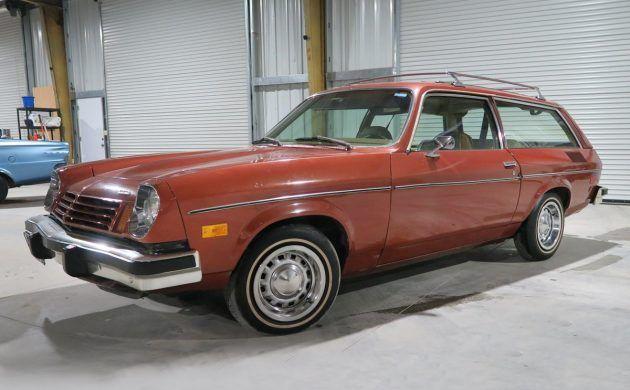 Blue Plate Wagon: 1975 Chevrolet Vega Kammback