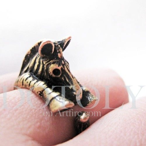 Miniature Zebra Ring