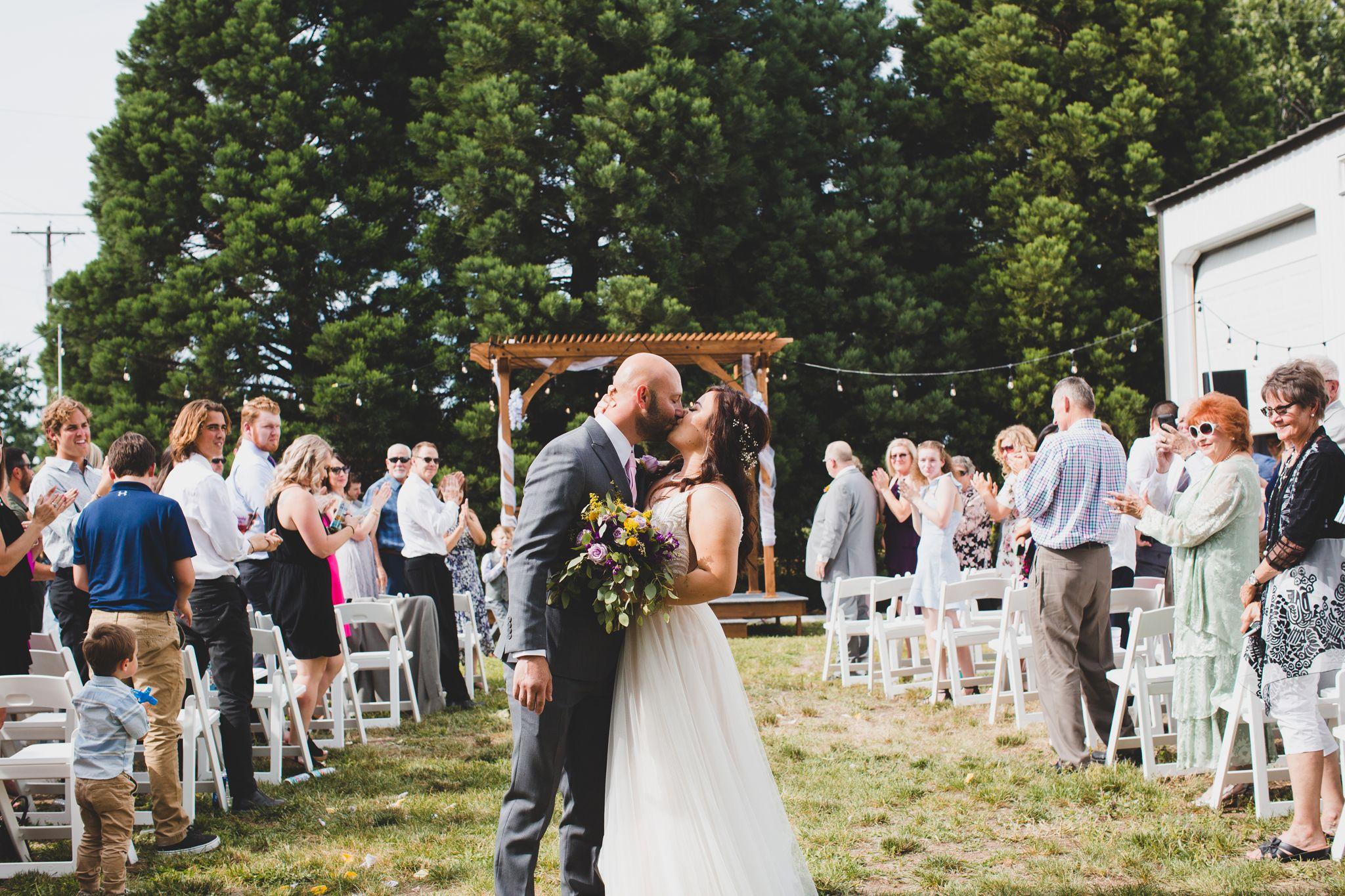 Backyard wedding / Private residence wedding / outdoor ...