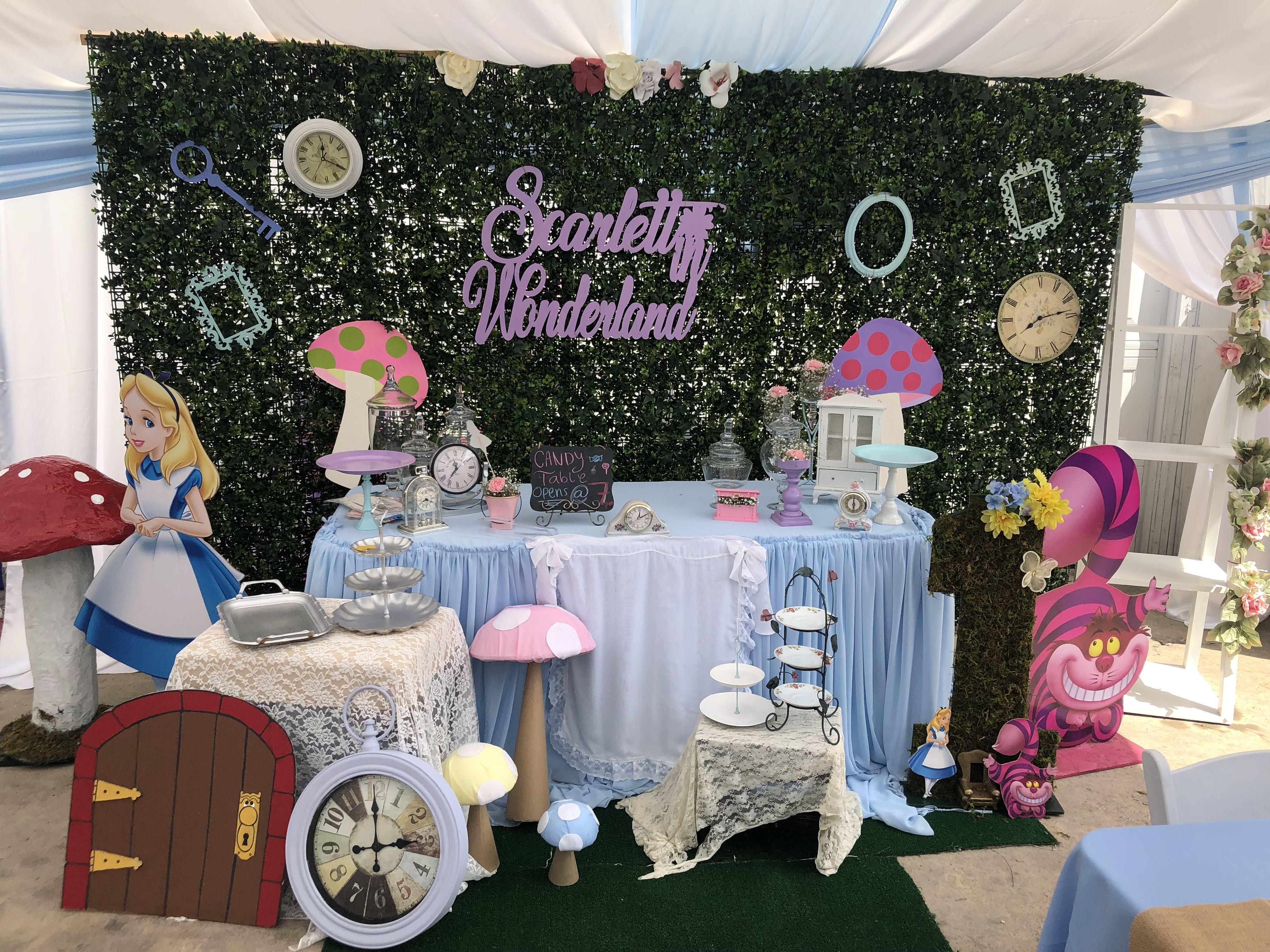 Alice In Wonderland Backdrop Alice In Wonderland Birthday Alice In Wonderland Party Alice In Wonderland Theme
