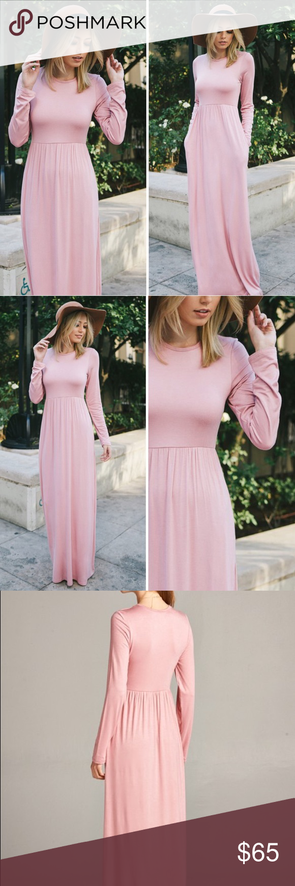 Long sleeve maxi dress just arrived boutique long sleeve maxi