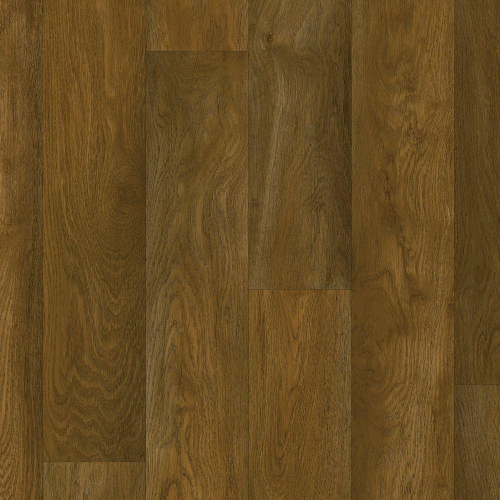 Biscayne Ottawa Oak Vinyl Sheet Flooring 6 in. x 9 in
