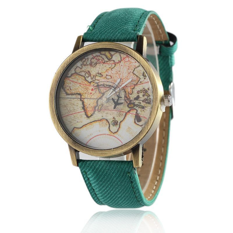 Denim Quartz Watch