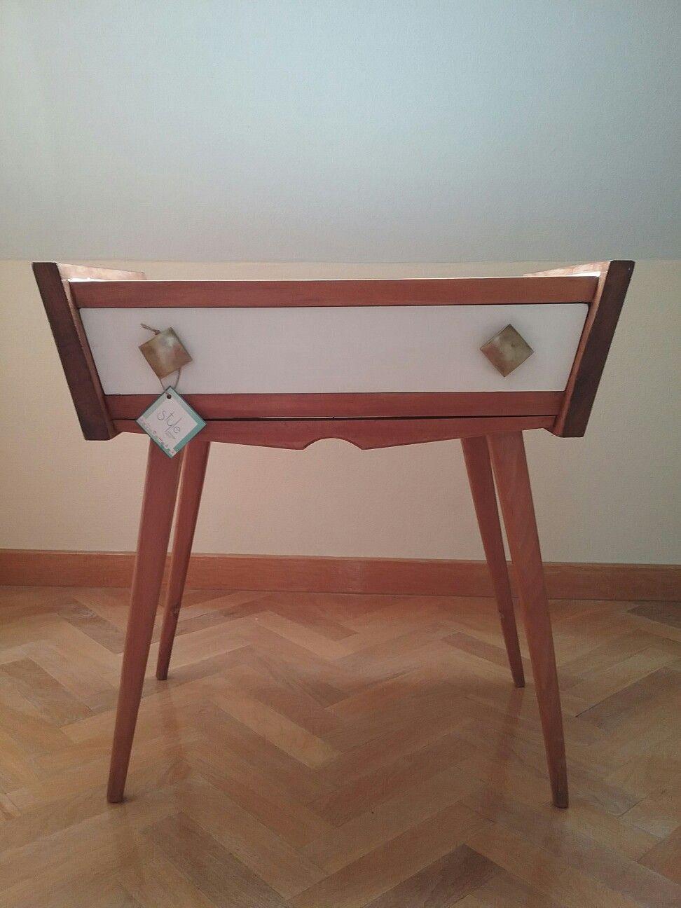 Mesilla Vintage Espa A Circa A Os 50 Dise O N Rdico Restaurado Por  # Muebles Mocholi