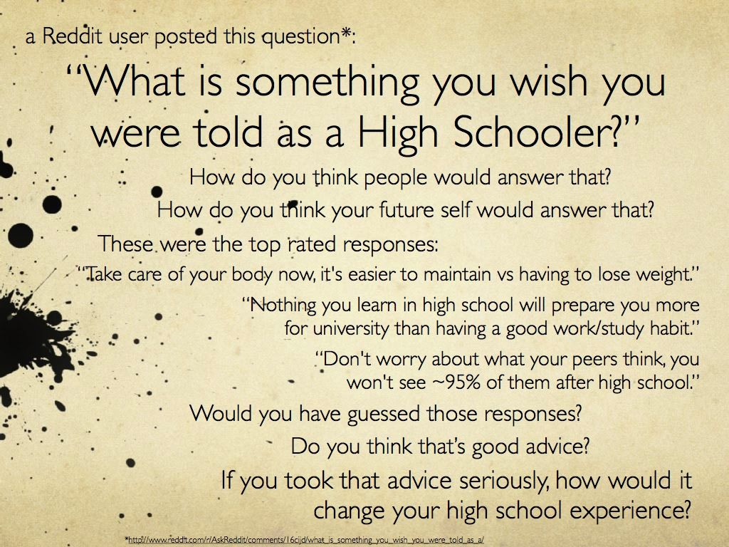 17 Best images about High school advice on Pinterest | Its always ...