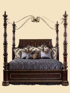 Marge Carson Bedroom Seville Poster Bed Sev91 5 Boyles Furniture