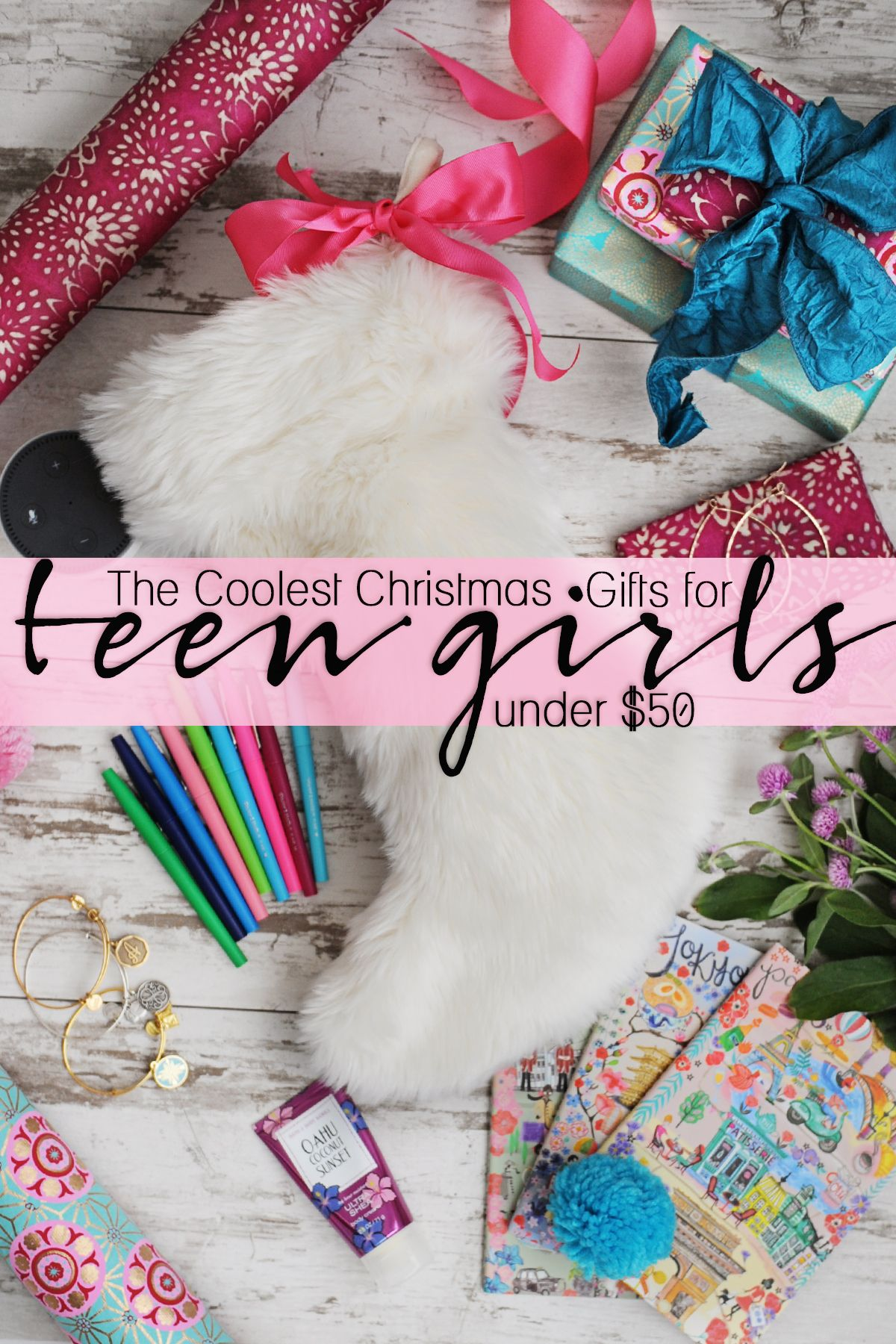 Coolest Christmas Gifts For Teen Girls Under $50