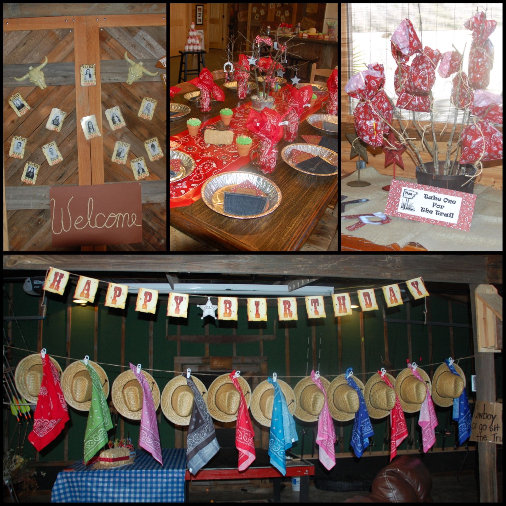 Good Western Theme Decorations Ideas Part - 4: Western Theme Classroom Ideas | Create An Affordable Theme Birthday Party  For Your Child - First