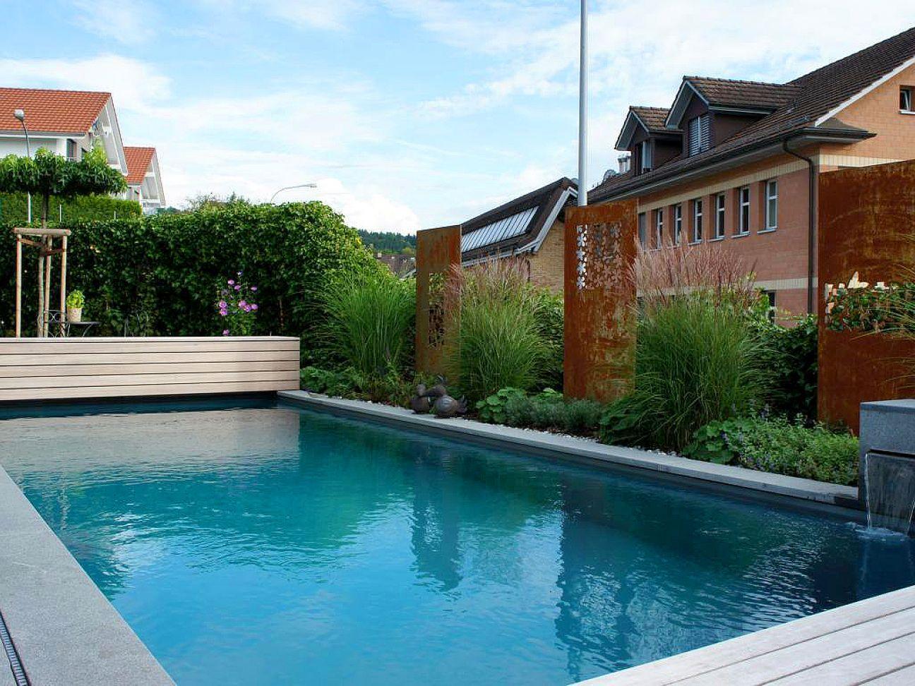 Living Pool Swimmingpool Schwimmteich Gartenbau Gartenumbau