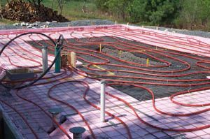 The Slab On Grade Installation Diy Radiant Floor Heating Radiant Floor Company Radiant Floor Heating Radiant Floor Heated Concrete Floor