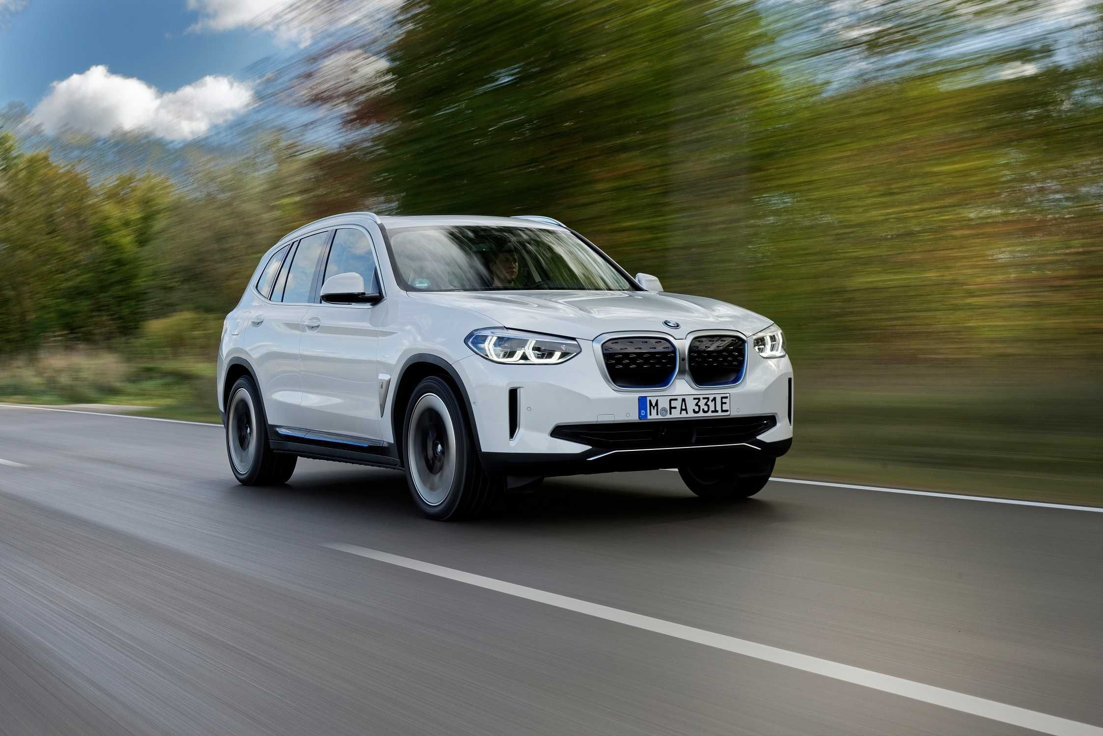 BMW is launching the iX3 electric SUV in Europe with the vehicle arriving at dealerships from China. #bmw #electriccar