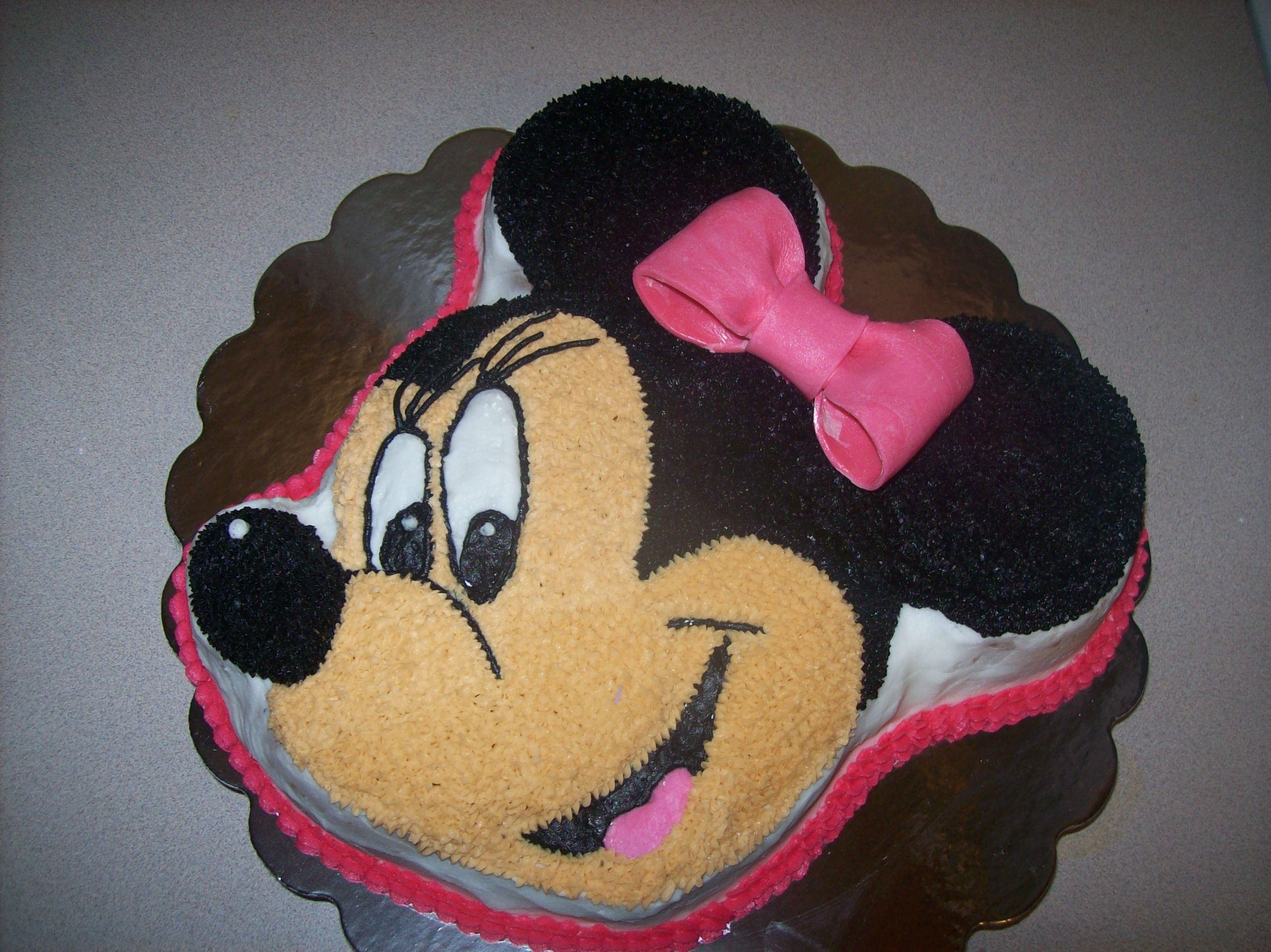 Fine Minnie Mouse Cake Minnie Mouse Cake Minnie Mouse Cake Pan Funny Birthday Cards Online Barepcheapnameinfo