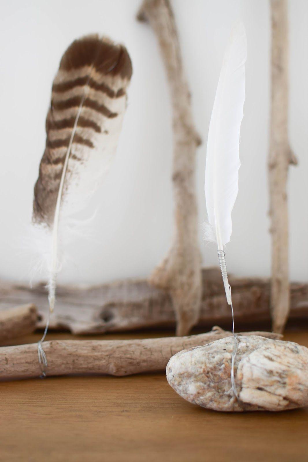 Badezimmer dekor bastelideen ich und die vögel federnlesen ein tolles federdekodiy und eine