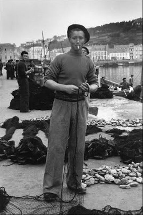 French Fisherman 1930-40's era with Beret | Vintage MENS