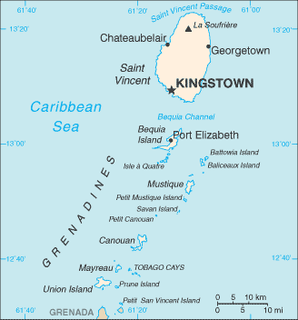 Saint Vincent And The Grenadines Wikipedia The Free