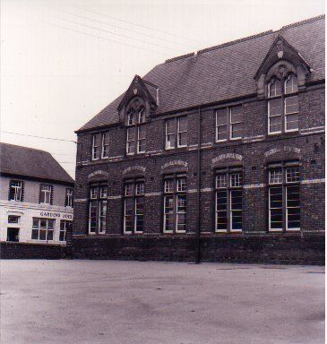 Hendon board school, I remember this yard so well. We all ...