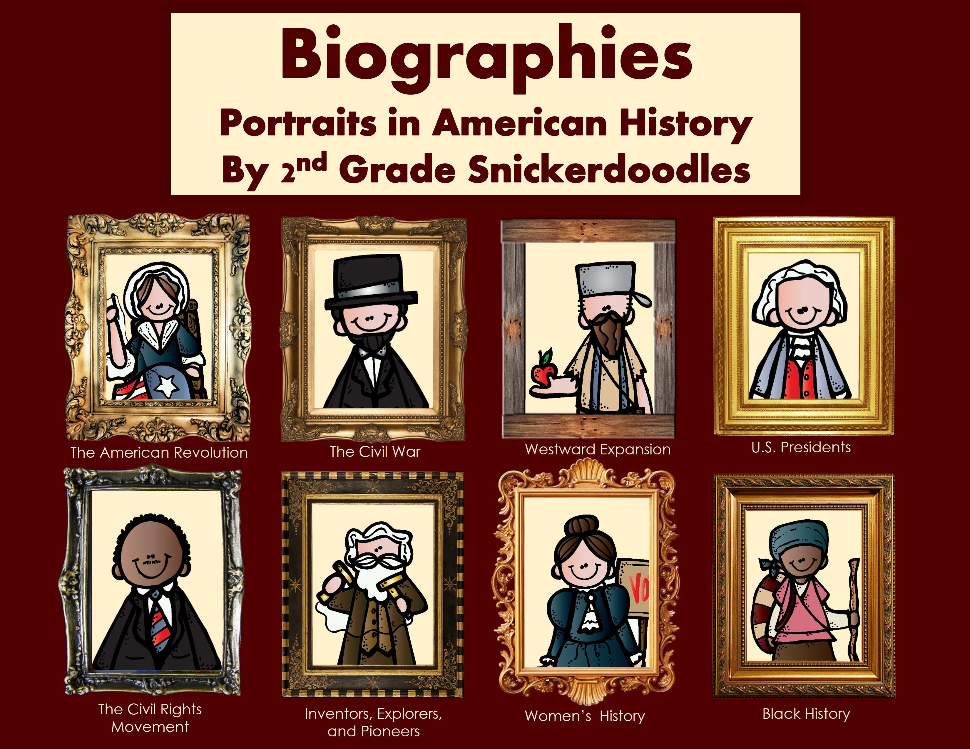 Biographies Portraits From American History