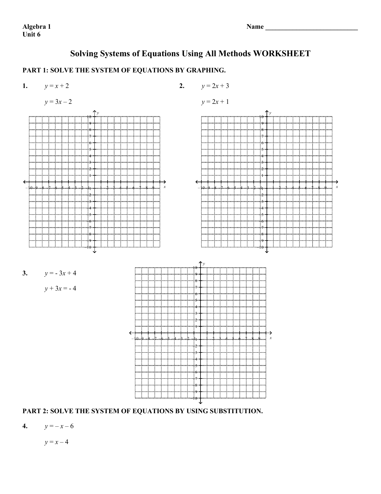 Worksheet Answer Keys Mathconceptualized | Systems of ...