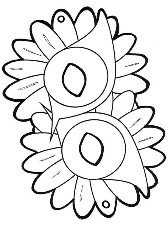 Dibujos.org / Manualidades / Caretas / Careta 1: