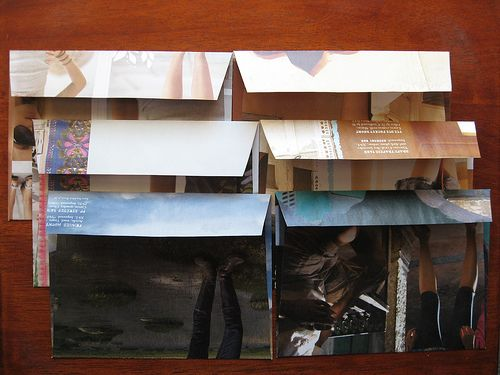 Recycled Paper Envelopes by geschmackssache, via Flickr