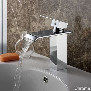 @Overstock   Elite 8815 Single Lever Waterfall Bathroom Sink Faucet    Designed To Reflect