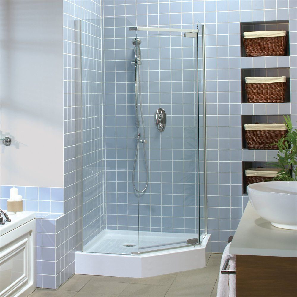 Pin by Jack Whalen on Master_Bath | Pinterest | Neo angle shower ...