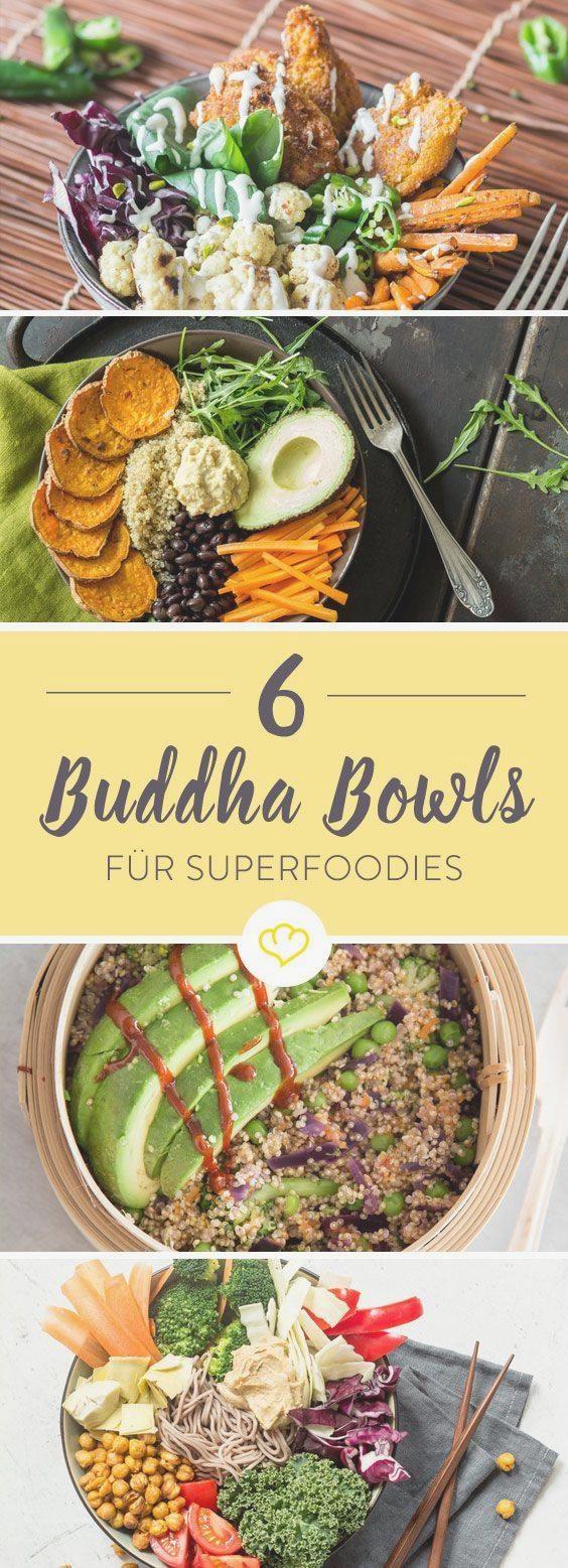 Buddha Bowls: 8 Schalen voller gesunder Köstlichkeiten #abendessen #fitness #fitnessabendessen