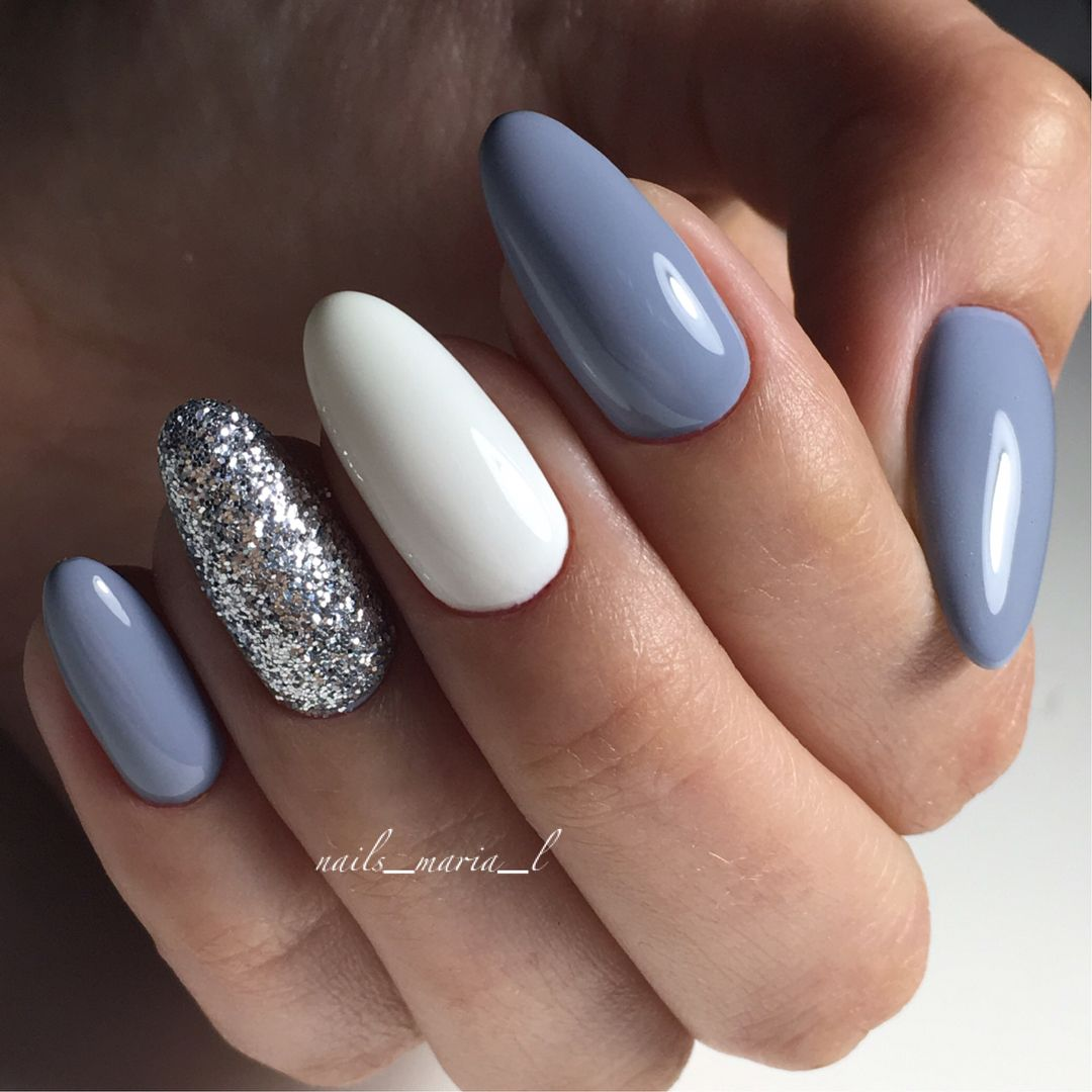 Beautiful mismatched nail art designs