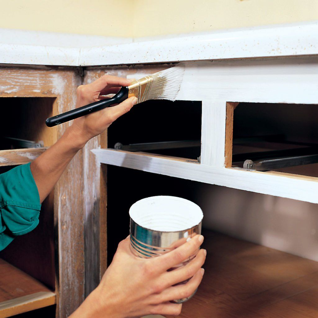 best paint for cabinets | Spray paint kitchen cabinets ...