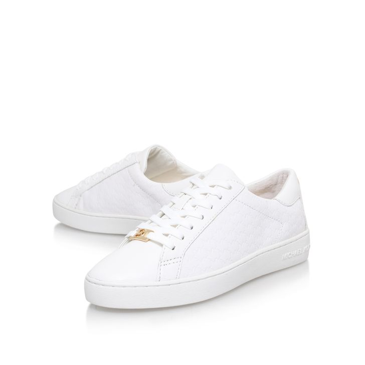 Colby Sneaker White Low Top Trainers By Michael Michael Kors. Kurt GeigerWhite  LeatherTrainersWoman ...