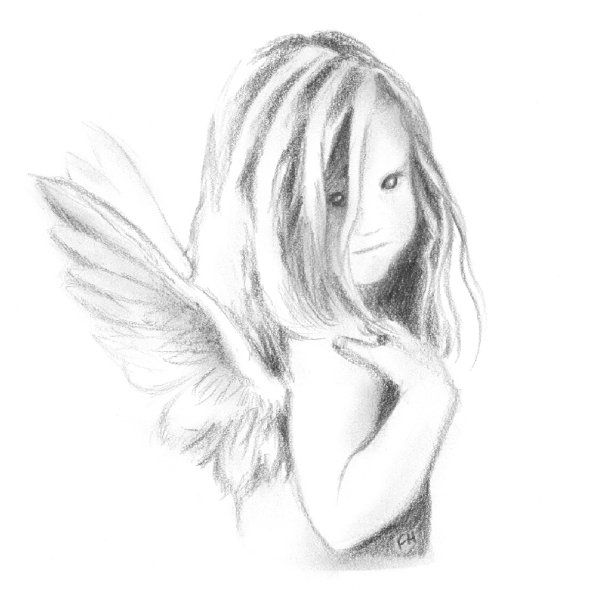 Baby angel sketch by farooky on deviantart