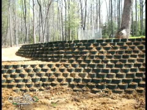 Is It Possible To Have A Retaining Wall Made With Tires That Is