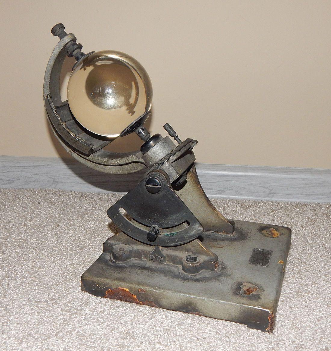 Alter Russisch Campbell Stokes Heliograph Sonnenscheinautograph Russland   eBay