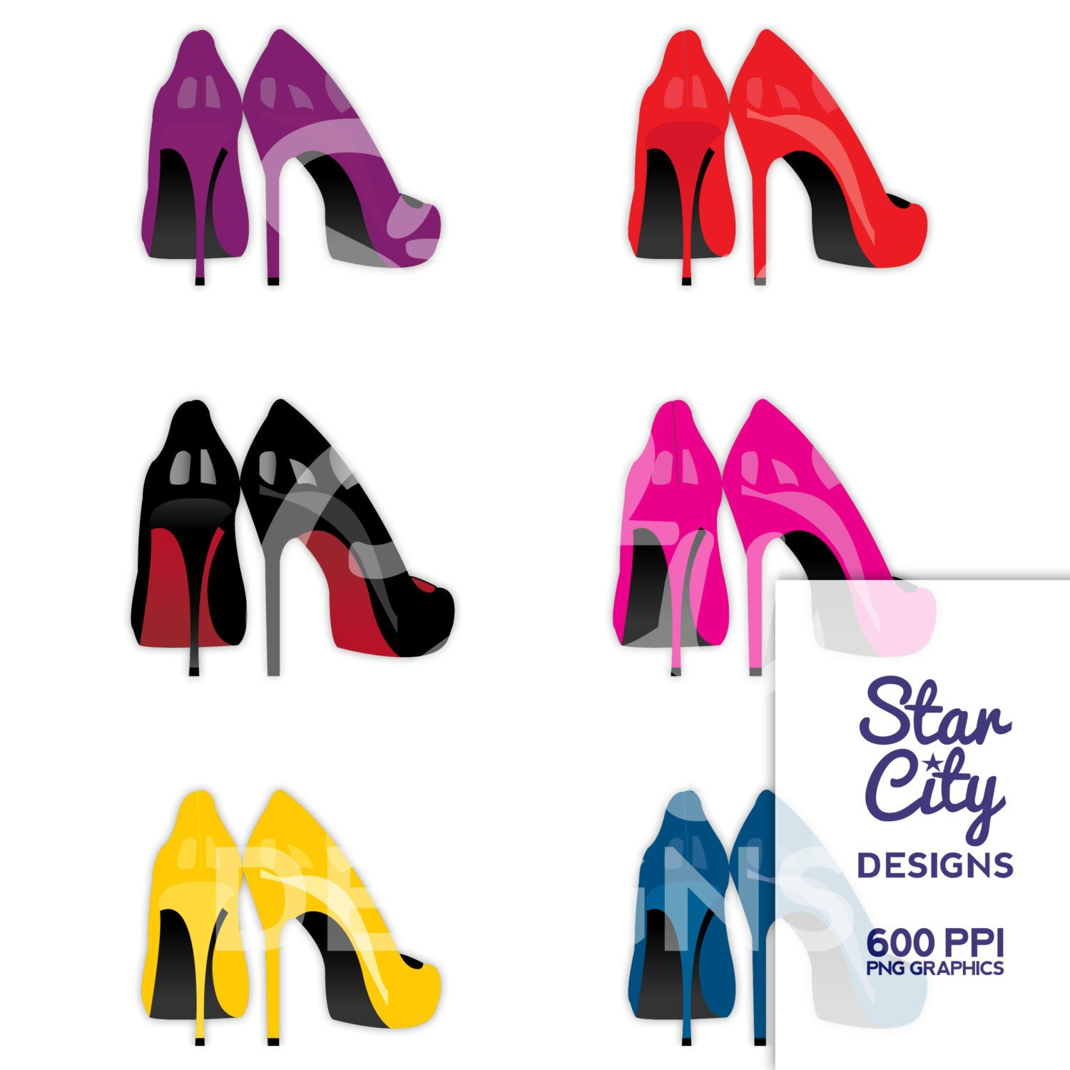 High Heel clipart Heel clipart Heels clipart shoe clipart