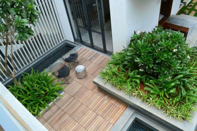Jardines pequeños ideas modernas 50 diseños. | Jardines pequeños ...