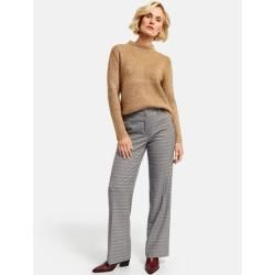 Photo of Trousers with break in the classic fit brown Gerry WeberGerry Weber