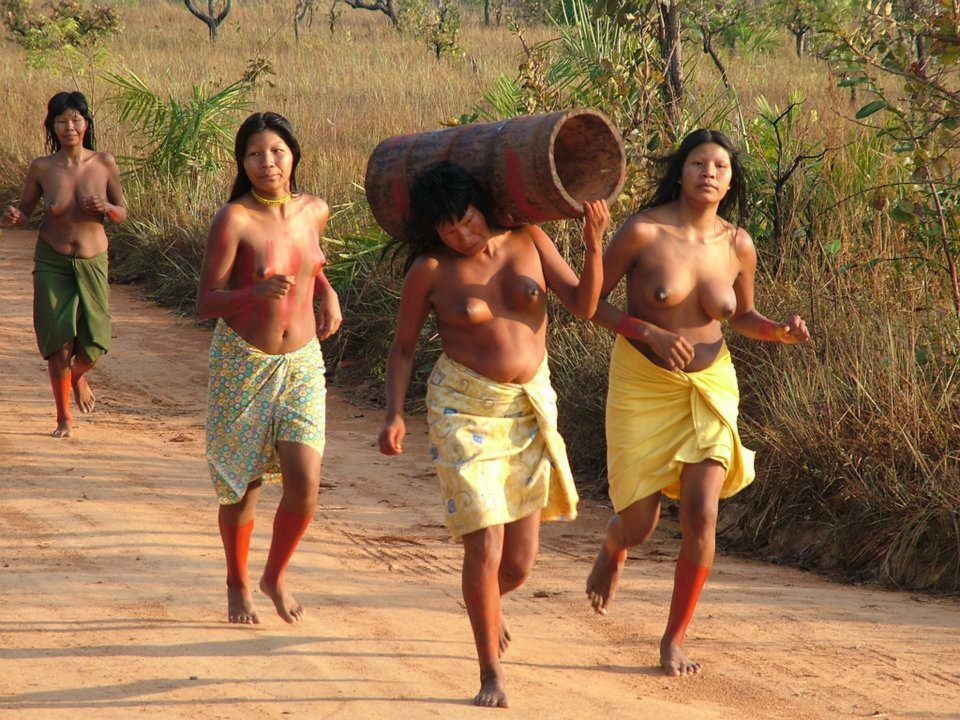 women Nude amazon tribes