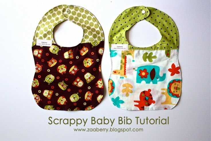 Baby Bib Tutorial...great website for other sewing tutorials