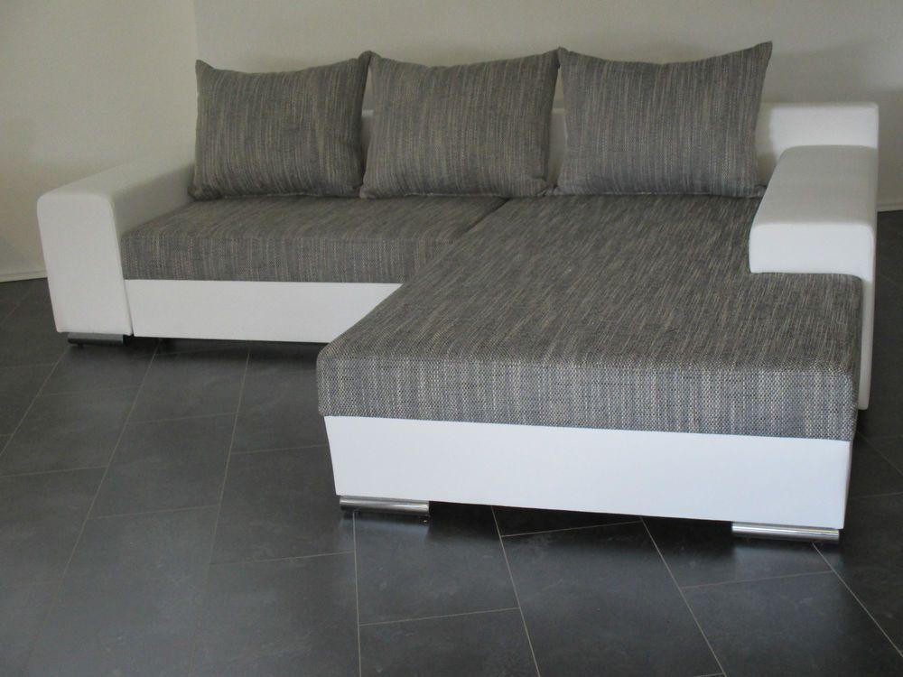 Neu Federkern Wohnlandschaft Bettsofa Sofa Couch 2 Www Sofa