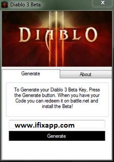 diablo 3 free key