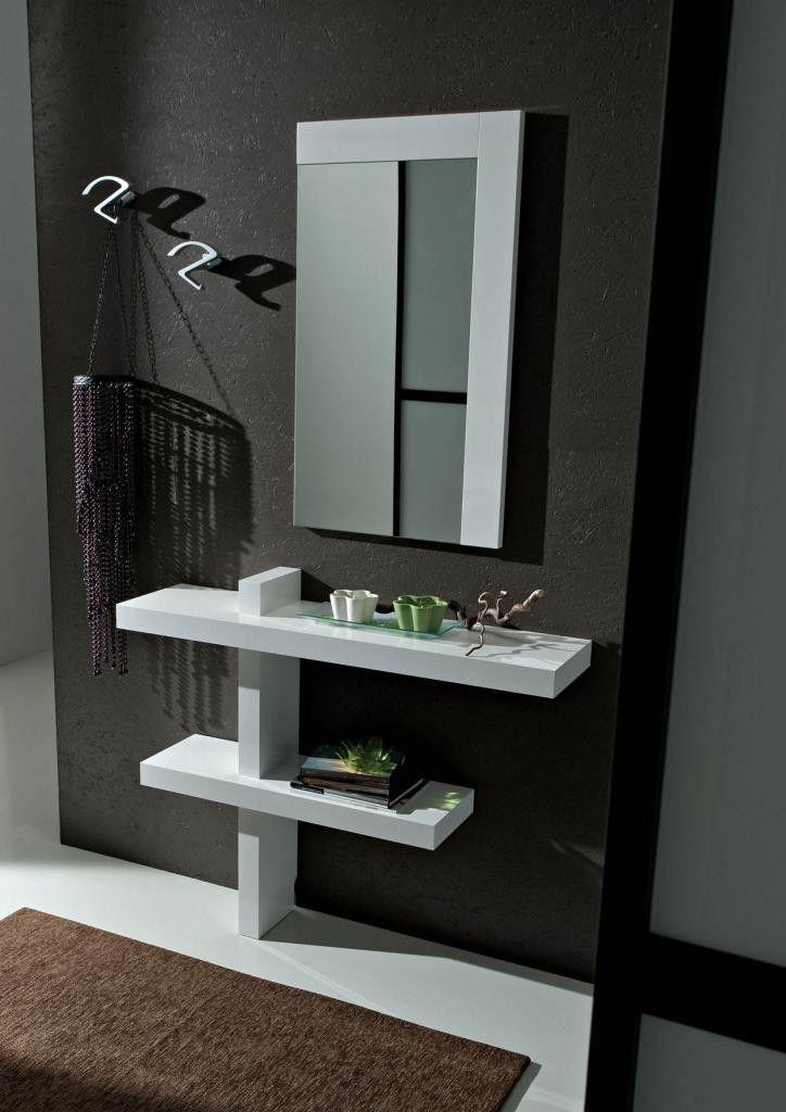 Mobili per ingresso moderni Bianco Lucido | Consolle | Pinterest