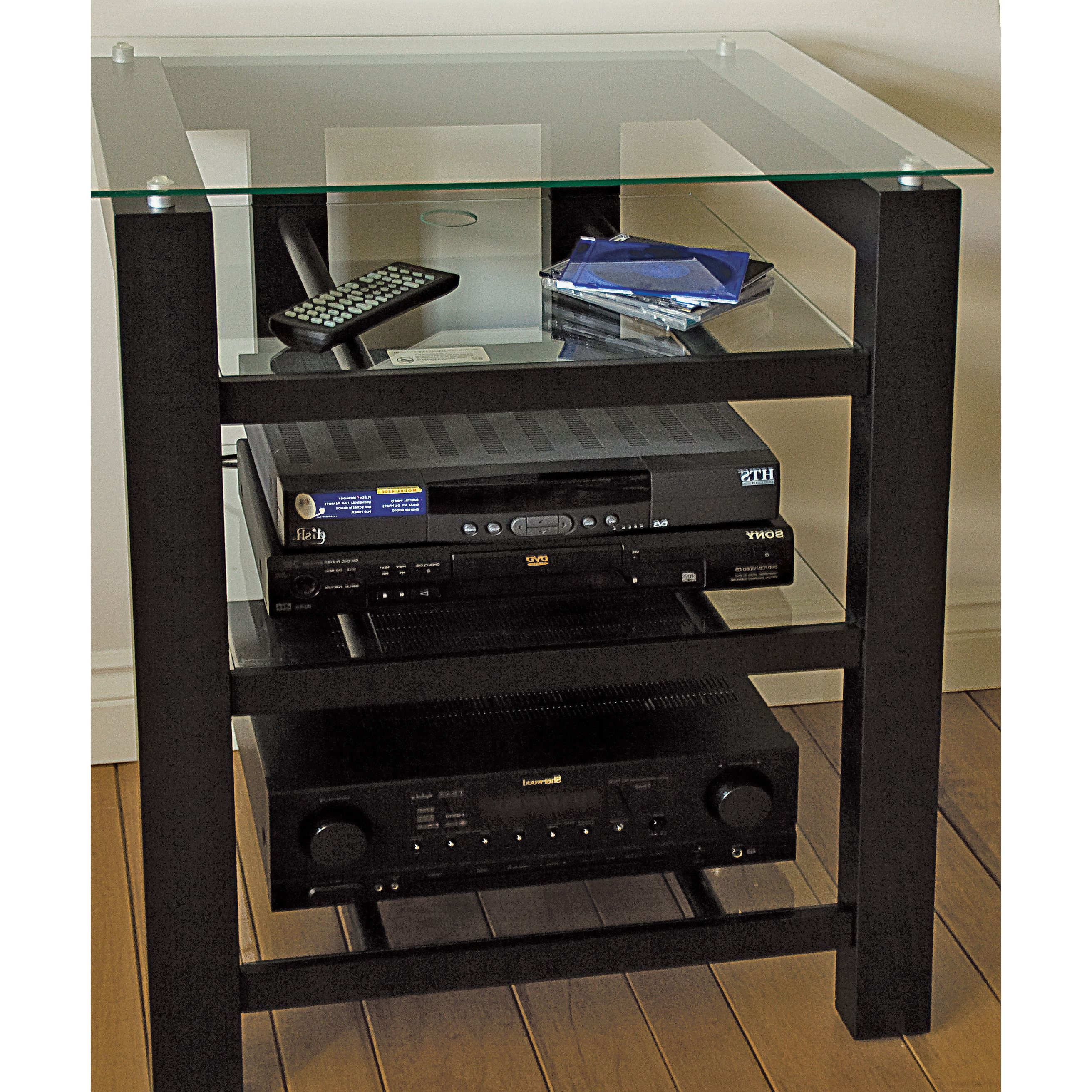 Plateau Sl Series Audio Video Rack Home Decor Star Wars Den  # Meuble Audio Video Noyer