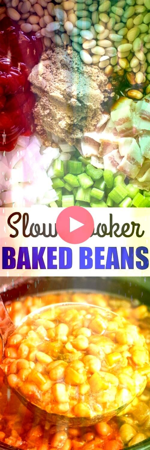 Cooker Baked Beans taste a million times better than what you get out of a  Slow Cooker Baked Beans taste a million times better than what you get out of a  Sweet Potato...